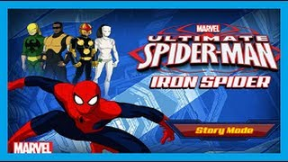 ULTIMATE SPIDERMAN  - IRON SPIDER ᴴᴰ - MARVEL SPIDERMAN GAMES