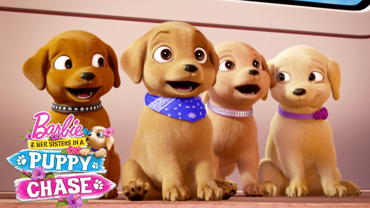 Download Puppy Playground | Barbie & Her Sisters in a Puppy Chase | @Barbie