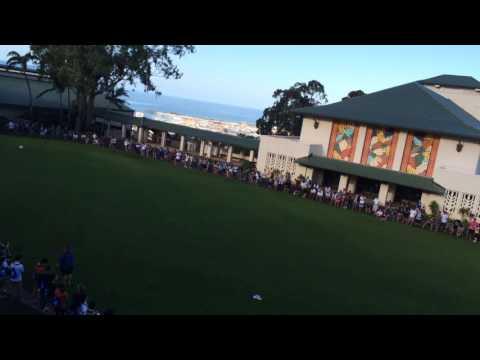 Kamehameha Schools Kapālama Class of 2016 Final Goodbye