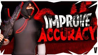 How to IMPROVE YOUR ACCURACY on controller! How to aim better in Fortnite! Fortnite tips!