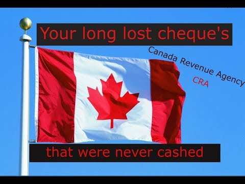 Cra Uncashed Cheque's
