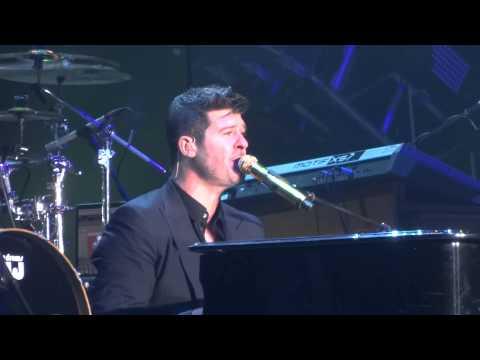 Robin Thicke -  Feel Good (LG Arena 8/1/14)