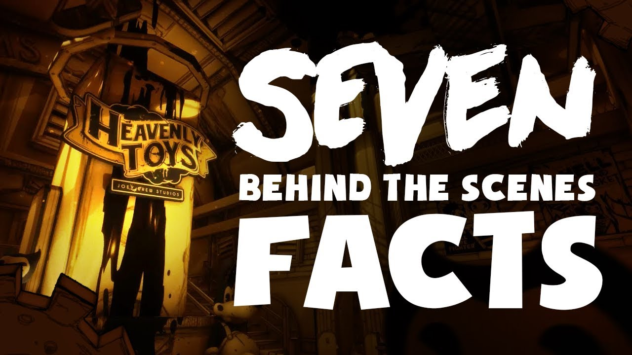 "7 BEHIND THE SCENES FACTS about ""Bendy: Chapter Three""!"