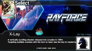 PC DARIUSBURST Chronicle Saviours - DLC Mode - Ray Force - Area 1
