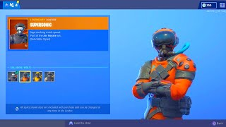 FORTNITE NEW SUPERSONIC SKIN! FORTNITE NEW ITEM SHOP UPDATE! NEW FORTNITE SKIN LEAKS UPDATE
