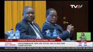 Segundo Censo Populacional 2017: Moçambique tem um total de 27.909.798 habitantes