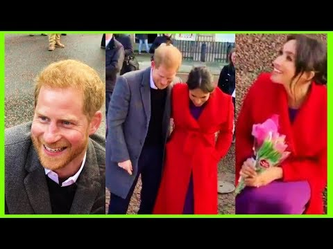 Prince Harry and Meghan Markle happy birthday sing song for little Megan Birkenhead Hamilton Square