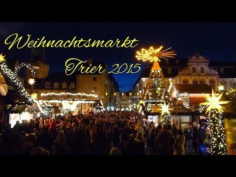 Auf dem Weihnachtsmarkt in Trier 2015