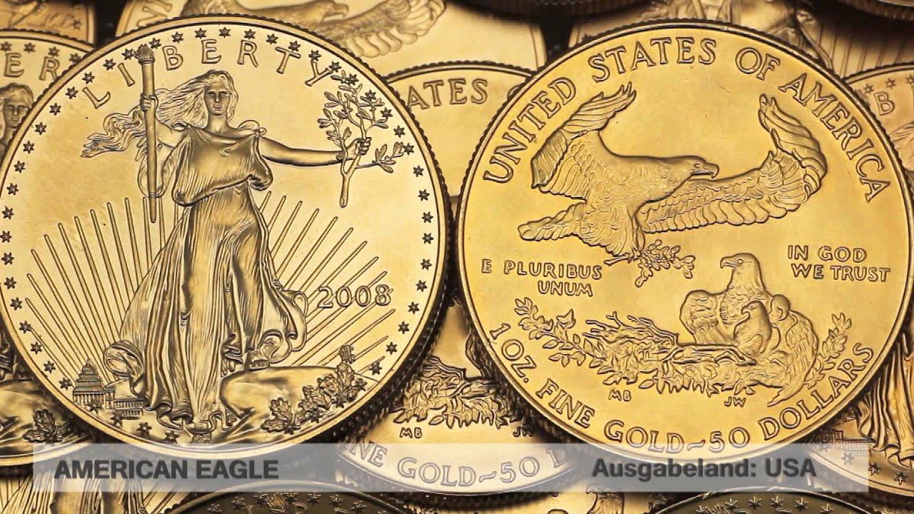 Goldmünze American Eagle (USA Bullion)