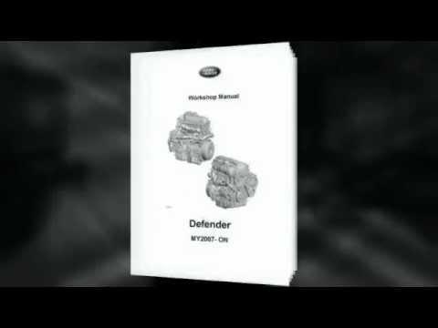 land rover defender 2007 workshop manual pdf