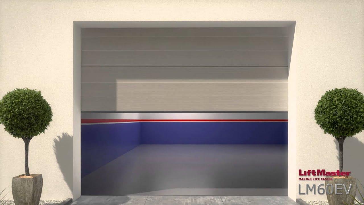 Motor garaje puerta seccional liftmaster lm60ev esp - Motor puerta garaje seccional ...