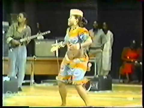 Congo Woman Dancing