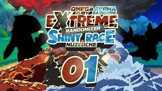 ULTRA HOENN! A LONG AWAITED SHINY RACE! Pokemon ORAS Extreme Randomizer Shiny Race Nuzlocke Ep 01