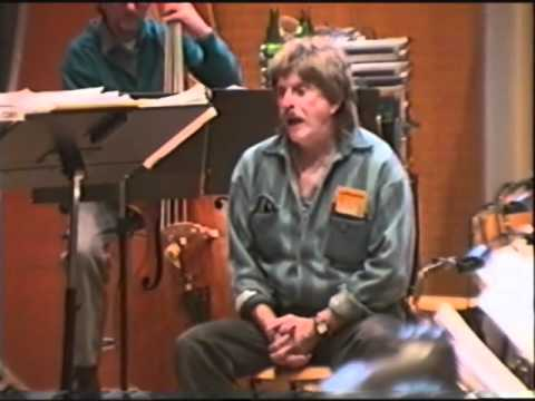 Mark Murphy rehearsal (part 2/4) with the RIAS Big Band Berlin, March 12th, 1997