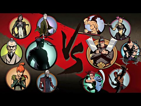 Shadow Fight 2 Shadow And Bodyguards Vs Butcher And Bodyguards
