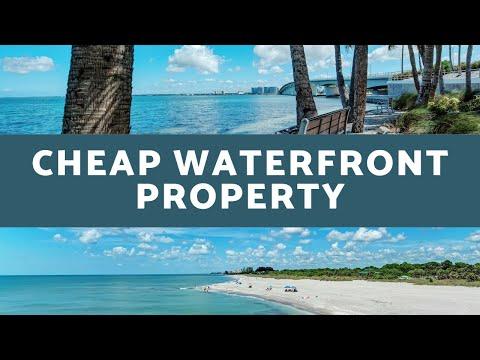 Cheap Waterfront Property   Sarasota, Florida