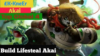 Build Lifesteal Akai,Build amp Gameplay Akai KKneEr