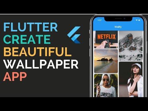 Flutter: Building a Beautiful Wallpaper App From Scratch To Store   Firebase   1.1