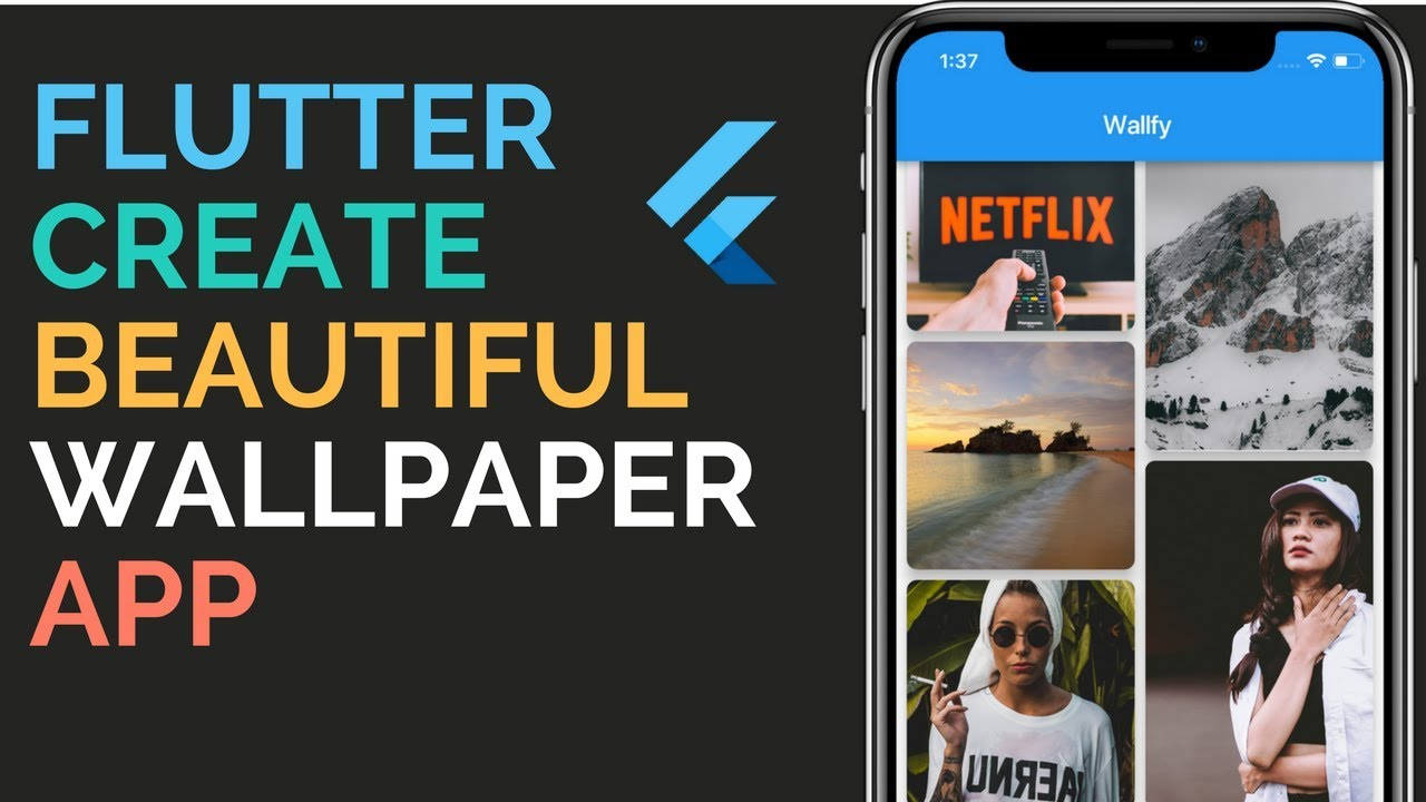 Flutter Building A Beautiful Wallpaper App From Scratch To Store Firebase 11