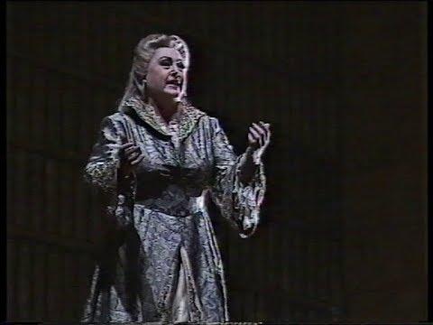Anna Tomowa-Sintow (Kaiserin) Richard Strauss' Die Frau Ohne Schatten, Opera de Marseille 1995