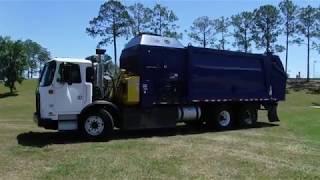 2016 Autocar Xpeditor 8.9L DIESEL Refuse Truck Blue - 9378