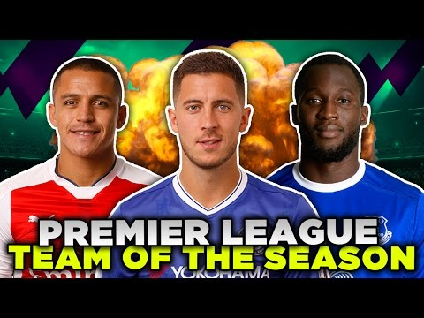 Premier League Team Of The Season | Sanchez, Lukaku & Alli