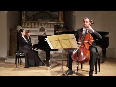 SILVANO FUSCO & ENZA DE STEFANO play J. Brahms: Sonata op.38