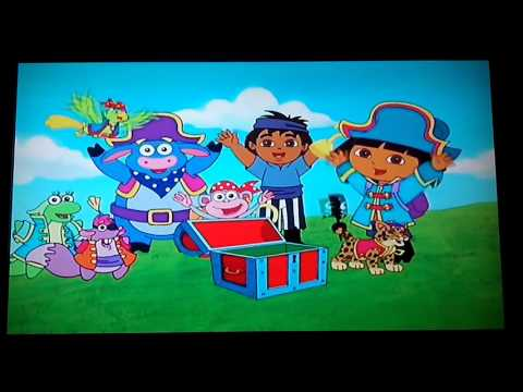 Opening to Dora the Explorer: Super Silly Fiesta 2004 DVD ...