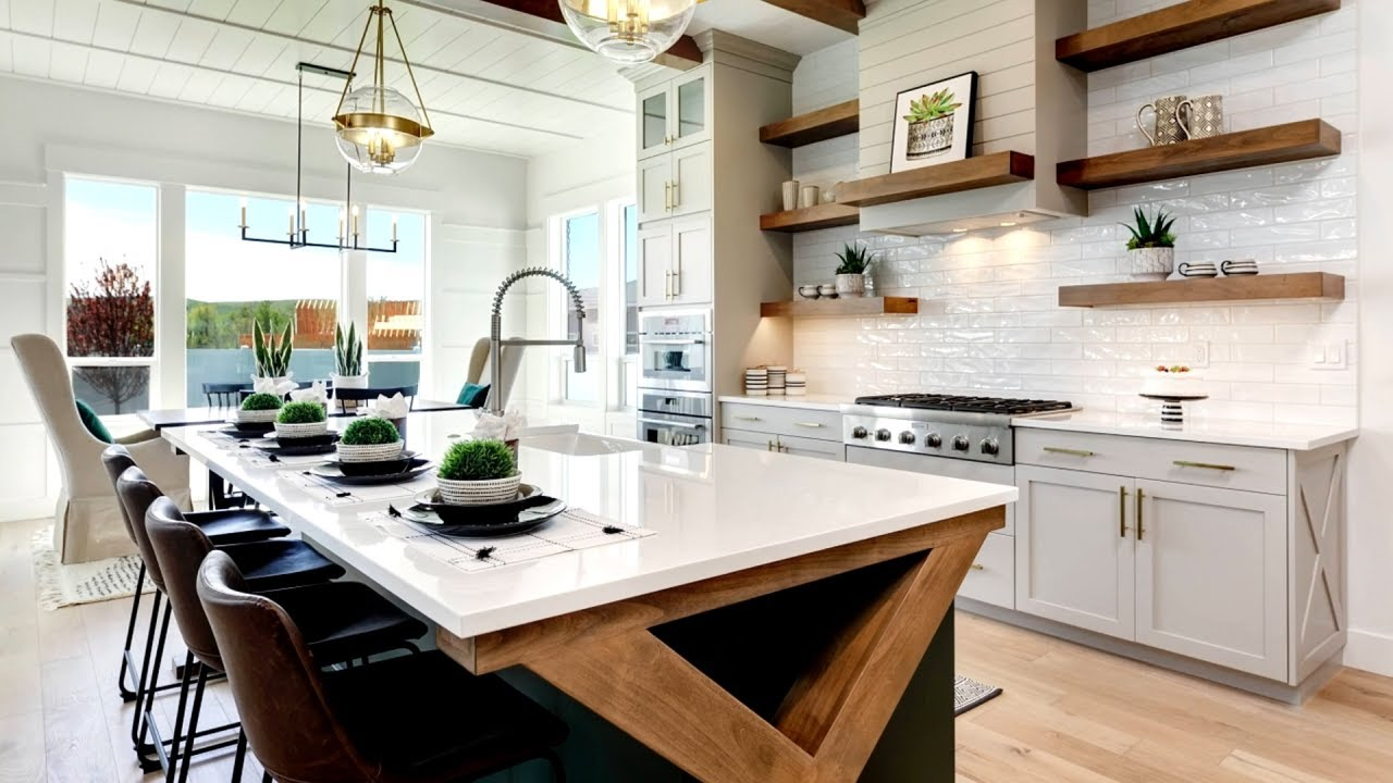 32 Modern Farmhouse Kitchen Ideas