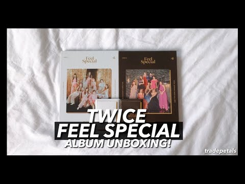 ✧ unboxing the twice feel special album + putting the cards in my binder! (the luck ... bro) ✧