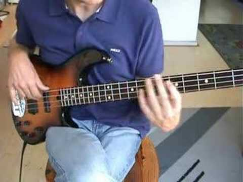 Matthew Wilder  Break My Stride  Bass