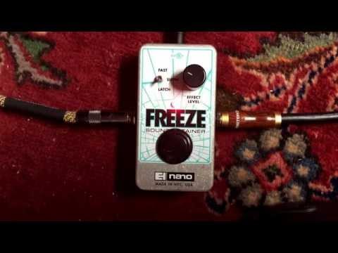 Electro-Harmonix FREEZE Sound Retainer Sustainer Guitar Pedal
