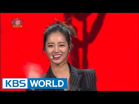 Girl's Day (걸스데이) - Expect Me (기대해) / Something [Music Bank HOT Stage / 2014.11.12]