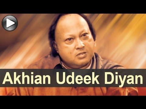 Nusrat Songs - Akhiyaan Udeek Diyan - Swan...