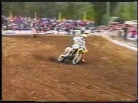 Motocross mondial 125 1992 may Genk Belgium