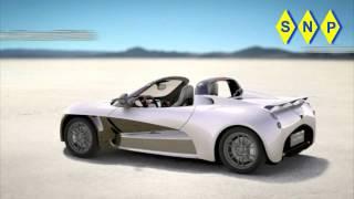Venturi Fetish Electric Sports Car Videos