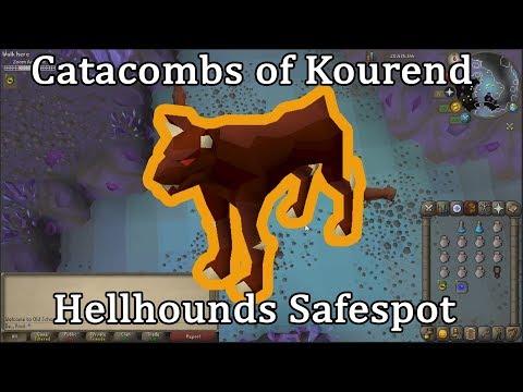 OSRS Hellhounds Safespot (Catacombs Of Kourend)