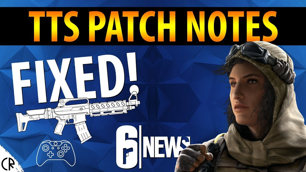 TTS Patch Notes - Y3S4 2 - 6News - Tom Clancy's Rainbow Six Siege
