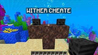 MINECRAFT MAIS AVEC UN WITHER CHEATÉ DES OCÉANS