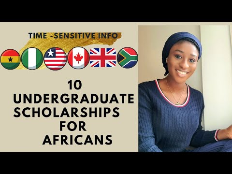 2020-2021 UNDERGRADUATE SCHOLARSHIPS FOR AFRICANS || ALL DISCIPLINES ||STUDENT IMMIGRANTS|| OCTOBER