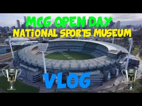 MCG Open Day and National Sports Museum Vlog