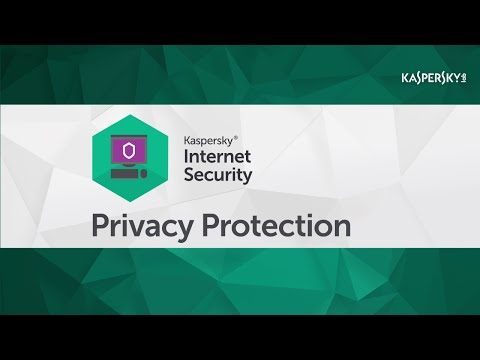 How do you use Kaspersky Internet Security 2016 to protect your privacy online?