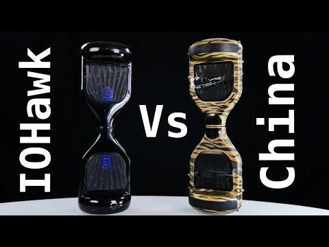 IO Hawk vs China Hoverboard - Best Hoverboard 2016 ?!