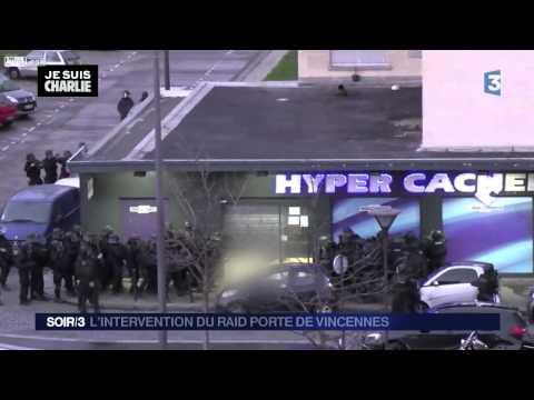 GIGN Raid - Charlie Hebdo