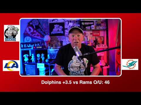 Miami Dolphins vs Los Angeles Rams NFL Pick and Prediction Sunday 11/01/20 Week 8 NFL  PickDawgz
