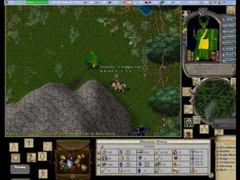 Destroying some Tokes around the faction dungeon Ultima Online