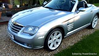 Video Review of 2006 Chrysler Crossfire Convertible For Sale SDSC Specialist Cars Cambridge UK