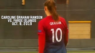 Caroline Graham Hansen Vs Faroe Island (october 8 2019)
