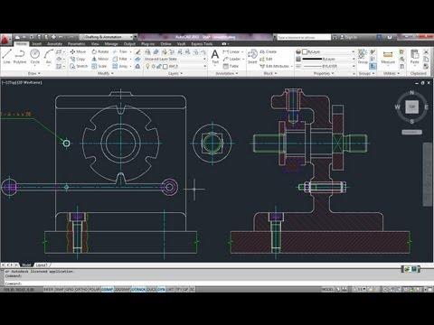autodesk-autocad-tutorial working-shaft-generator-p2 blocks,-wblocks-and-palettes 