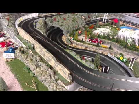 Scalextric Slot Car Track